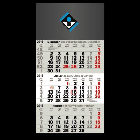 3-Monatskalender für das Folgejahr